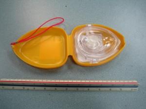 CPR Pocket Mask Inside Case