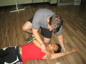 First aid training in Vancouver