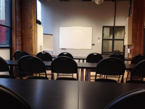 First aid training room in Hamilton